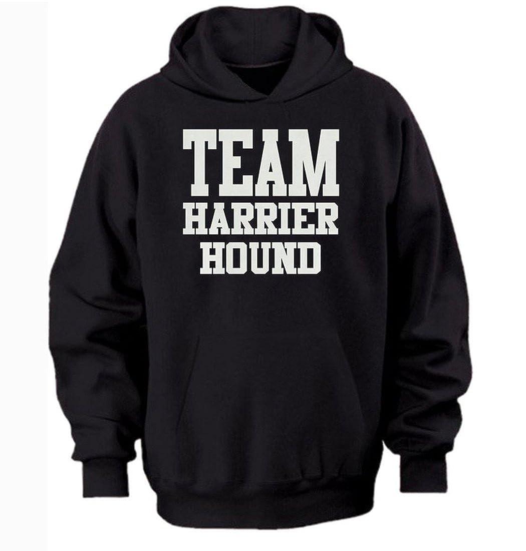Team harrier hound hoodie by Bertie free worldwide shipping black 3xl//55 inch chest