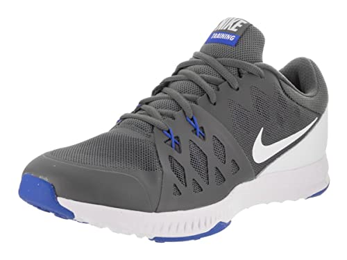 2aa6ad56160b Nike Men s Air Epic Speed Tr II Dark Grey White Hyper Cobalt Training Shoe  11 Men US  Buy Online at Low Prices in India - Amazon.in