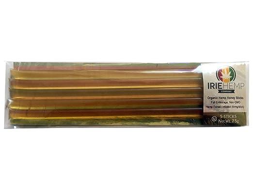 Irie Hemp Organic Honey Sticks - 5 Pack (10mg each)
