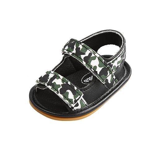 b95af9a14d5d2 CoKate Camo Sandals, Soft Sole Infant Boys Girls Summer Premium Toddler  Shoes