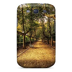 Galaxy S3 Case Slim [ultra Fit] Stroll To Remember Protective Case Cover by icecream design