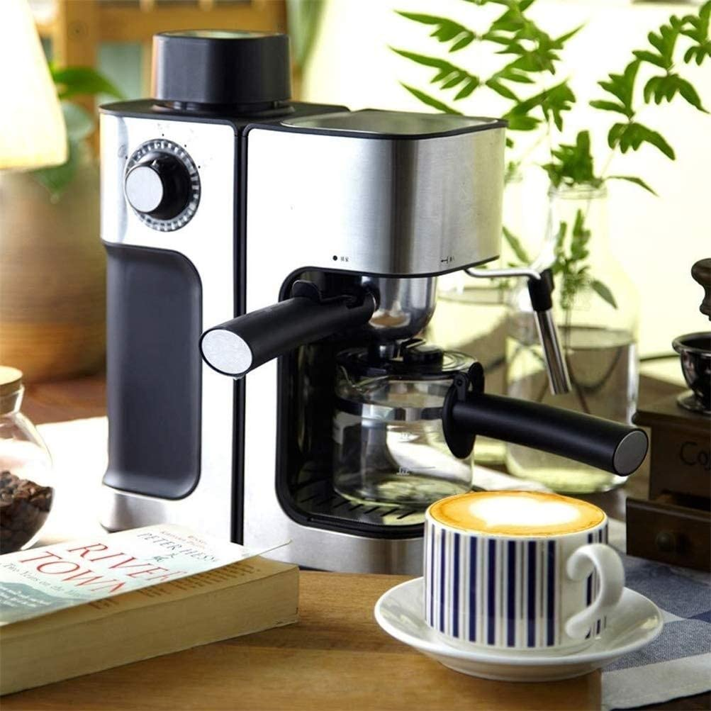 QZKFJ Steam Commercial Coffee Machines Automatic Milk Frother Fancy Freshly Ground Coffee ...