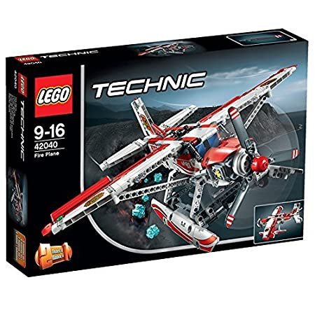 LEGO Avión de extinción de incendios multicolor
