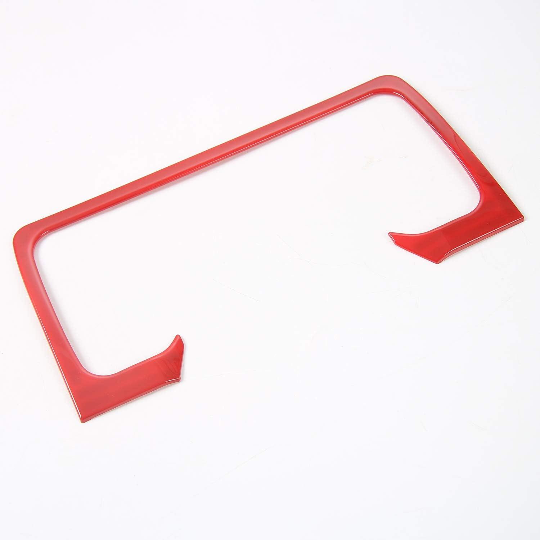 Red Car Interior Dashboard Panel Trim Cover for Jeep Wrangler TJ 1997-2006