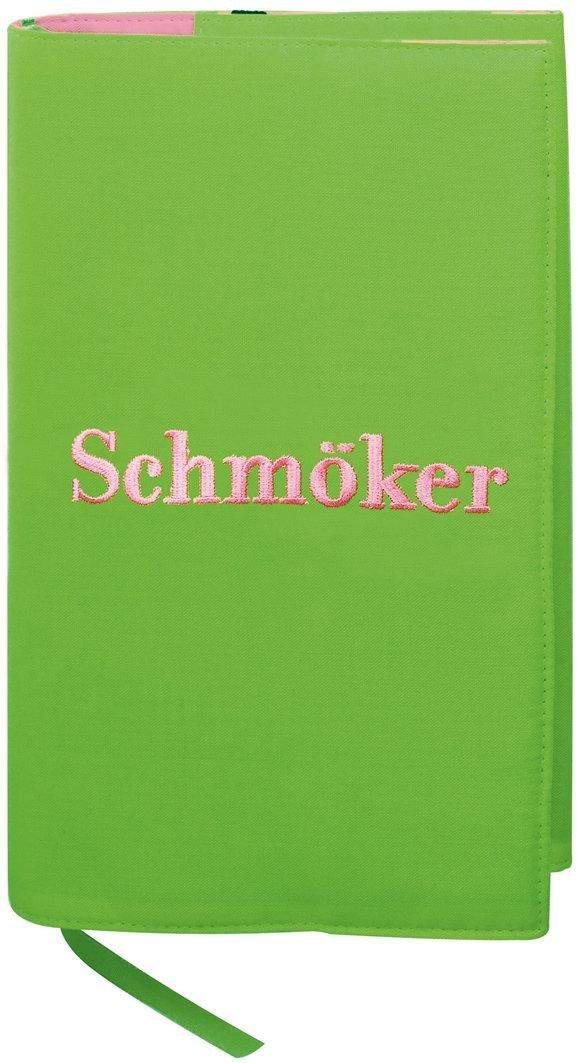 Moses Libri_x 81570 - Custodia protettiva per libro, motivo decorativo:Schmöker, taglia L moses. Verlag GmbH