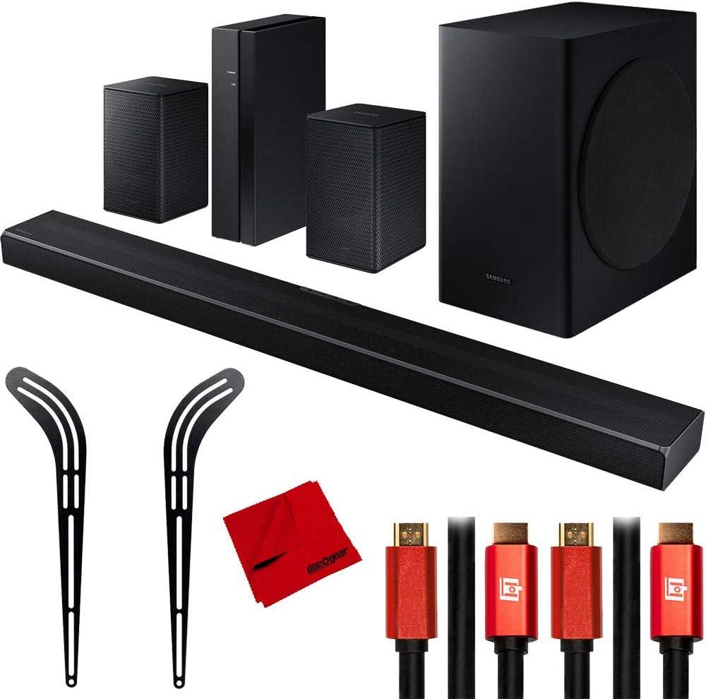 Samsung Hw Q60t 5 1ch Barra De Sonido 3d Con Swa 8500s Kit De Altavoces Traseros Inalámbricos Electronics