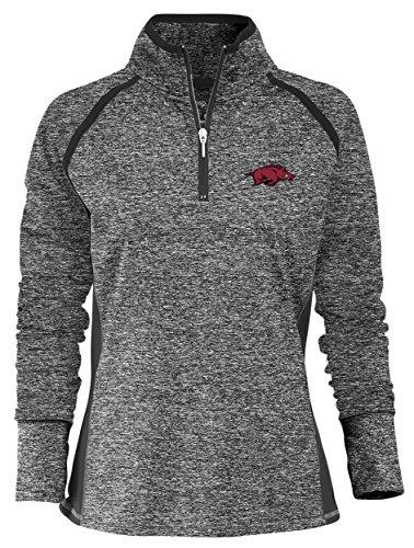 NCAA Finalist Women's Quarter-Zip Pullover Arkansas Razorbacks Large Static