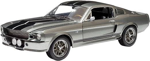 GREENLIGHT 1:24 W//B GONE IN 60 SECONDS ELEANOR 1967 CUSTOM MUSTANG Diecast Car