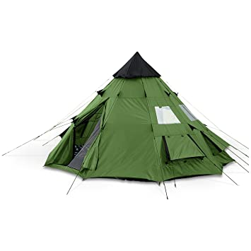 Guide Gear Teepee Tent 10u0027 x ...  sc 1 st  Amazon.com & Amazon.com : Guide Gear Teepee Tent 10u0027 x 10u0027 : Backpacking Tents ...