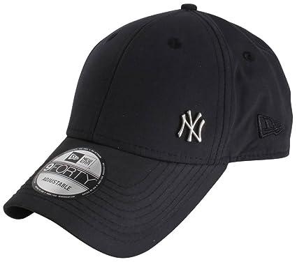 b20f529b4de39 New Era Cap – 9forty Mlb Flawless Logo Basic New York Yankees black silver  size