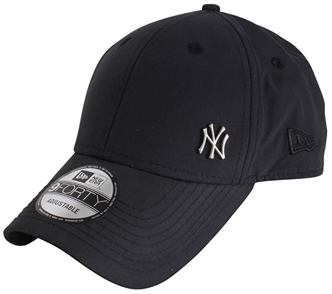 5d7e0edc54662d Image Unavailable. Image not available for. Colour: New Era and MLB  Flawless logo 9Forty Curve Cap ~ New York Yankees