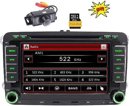 2DIN GPS estéreo de 7 pulgadas Reproductor de DVD de coche en Dash ...