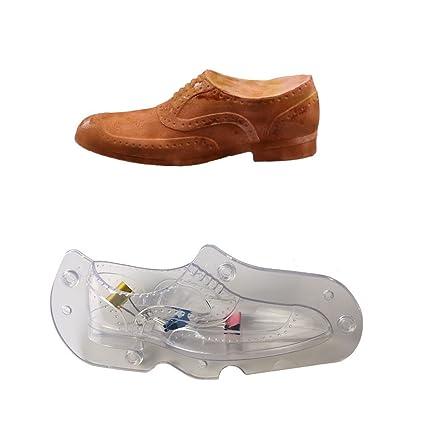KEHUASHINA Zapatos para hombre molde 3D de plástico,duro PC molde de chocolate,molde