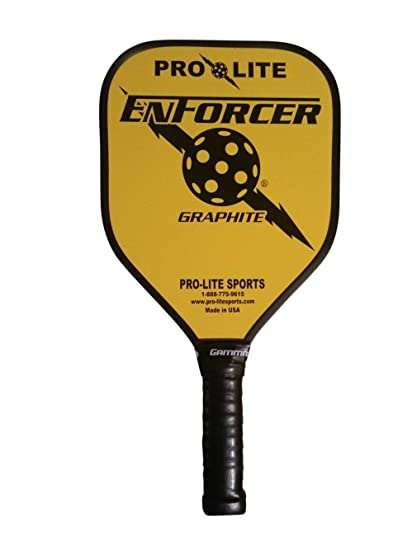 Amazon.com: Pro Lite Deportes Enforcer Grafito Pickleball ...
