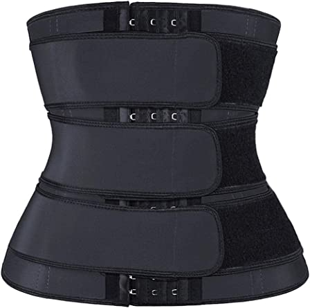 Acelitt Women Trimmer Weight Loss Belt Body Shaper Waist Plus Size Cincher Trainer