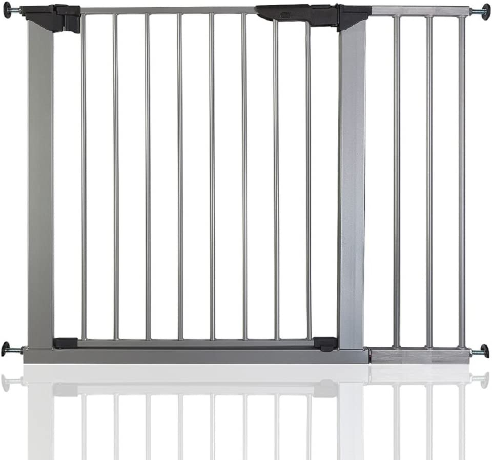 73.5-79.6 cm Safetots No Screw Stair Gate Silver