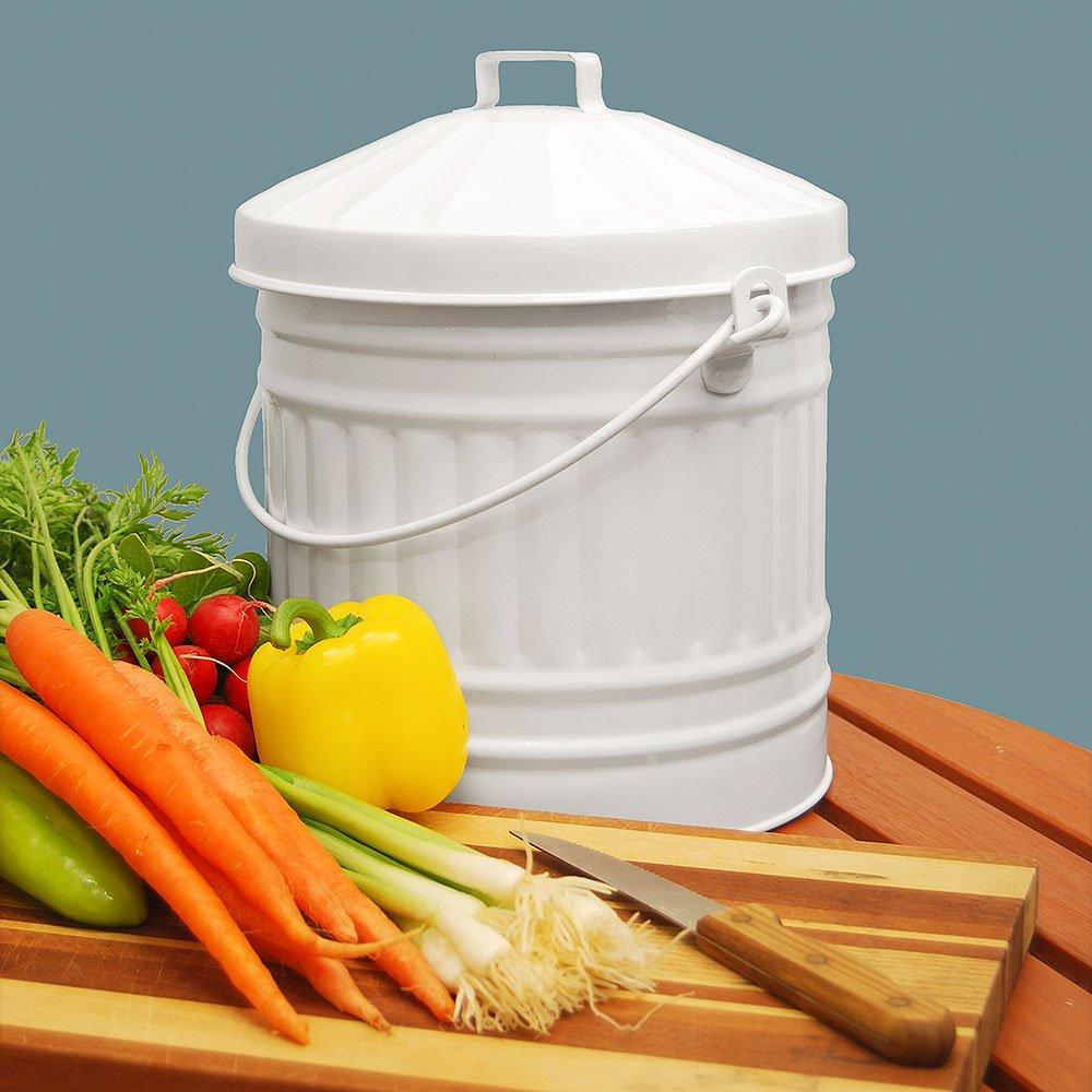 Amazon.com: Achla diseños cp-02 Cocina cubeta para compost ...