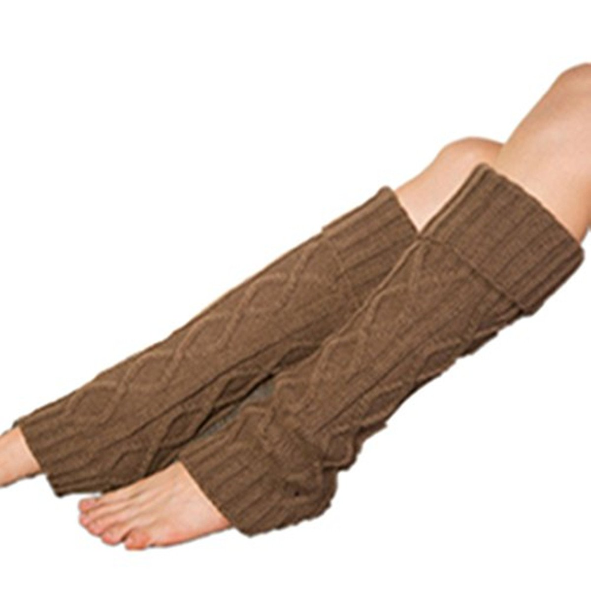 Clearance E-Papaya 2016 Womens Flip-over long Leg Warmer Knit Boot Socks Cuff