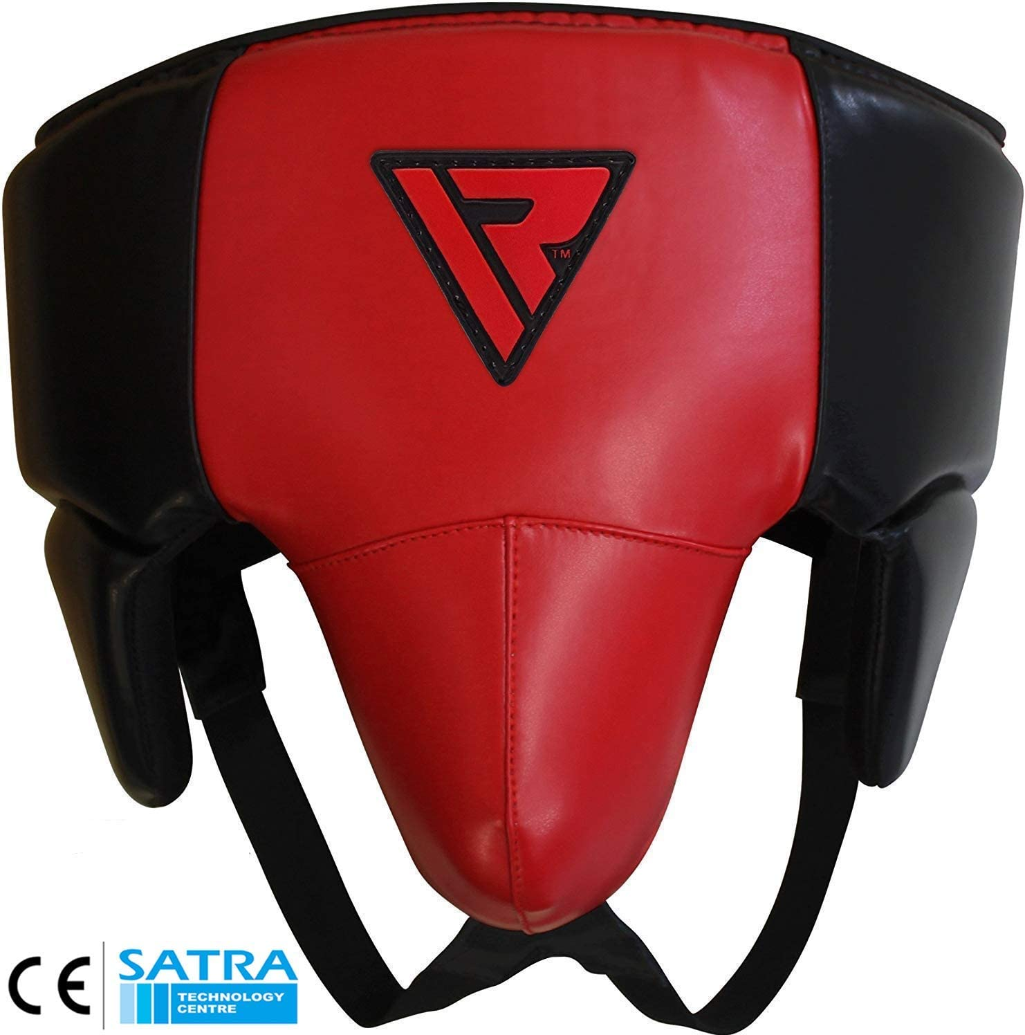 Red//Black Ringside Groin Abdominal Boxing Protector