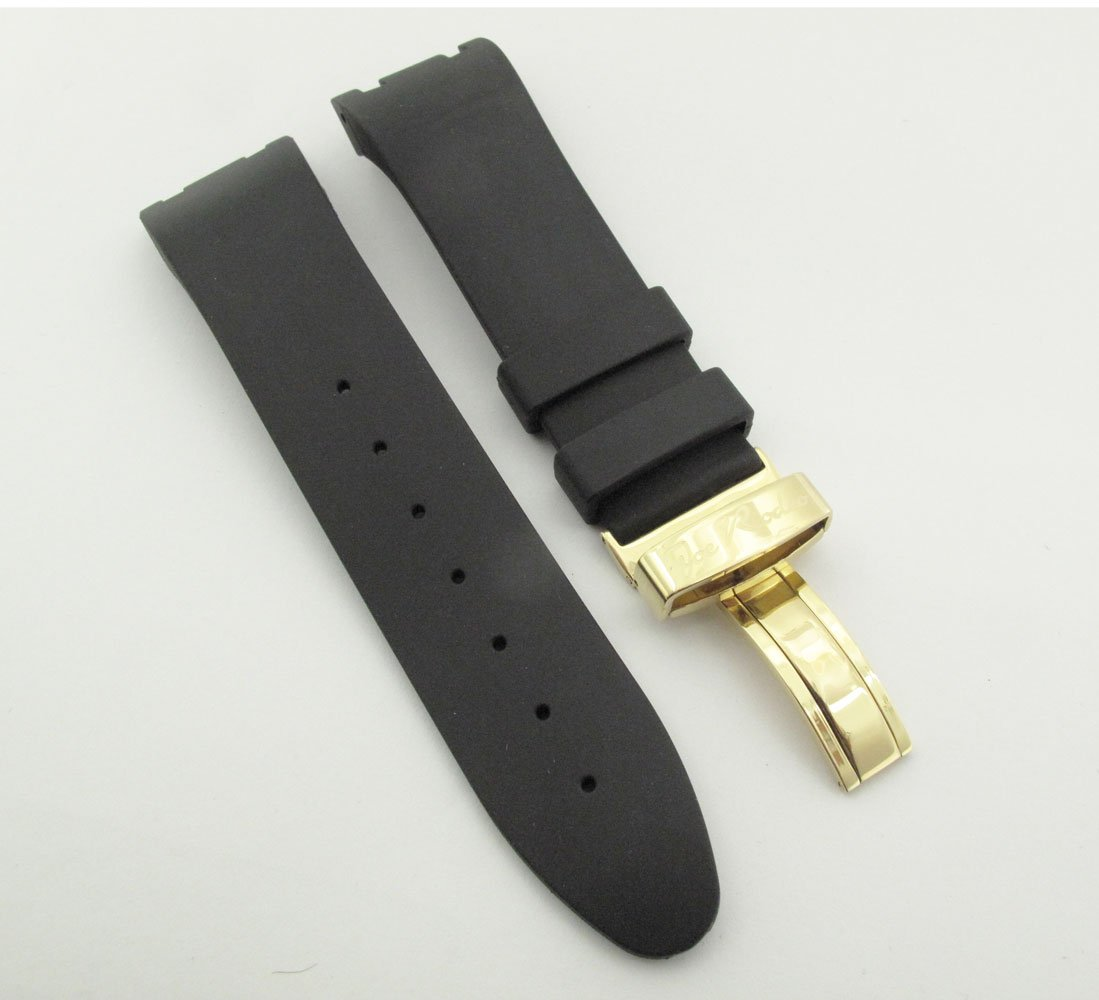 Joe Rodeo Men's Watch Band Strap Fit All Master Model Yellow Color Clasp. by Joe Rodeo (Image #3)
