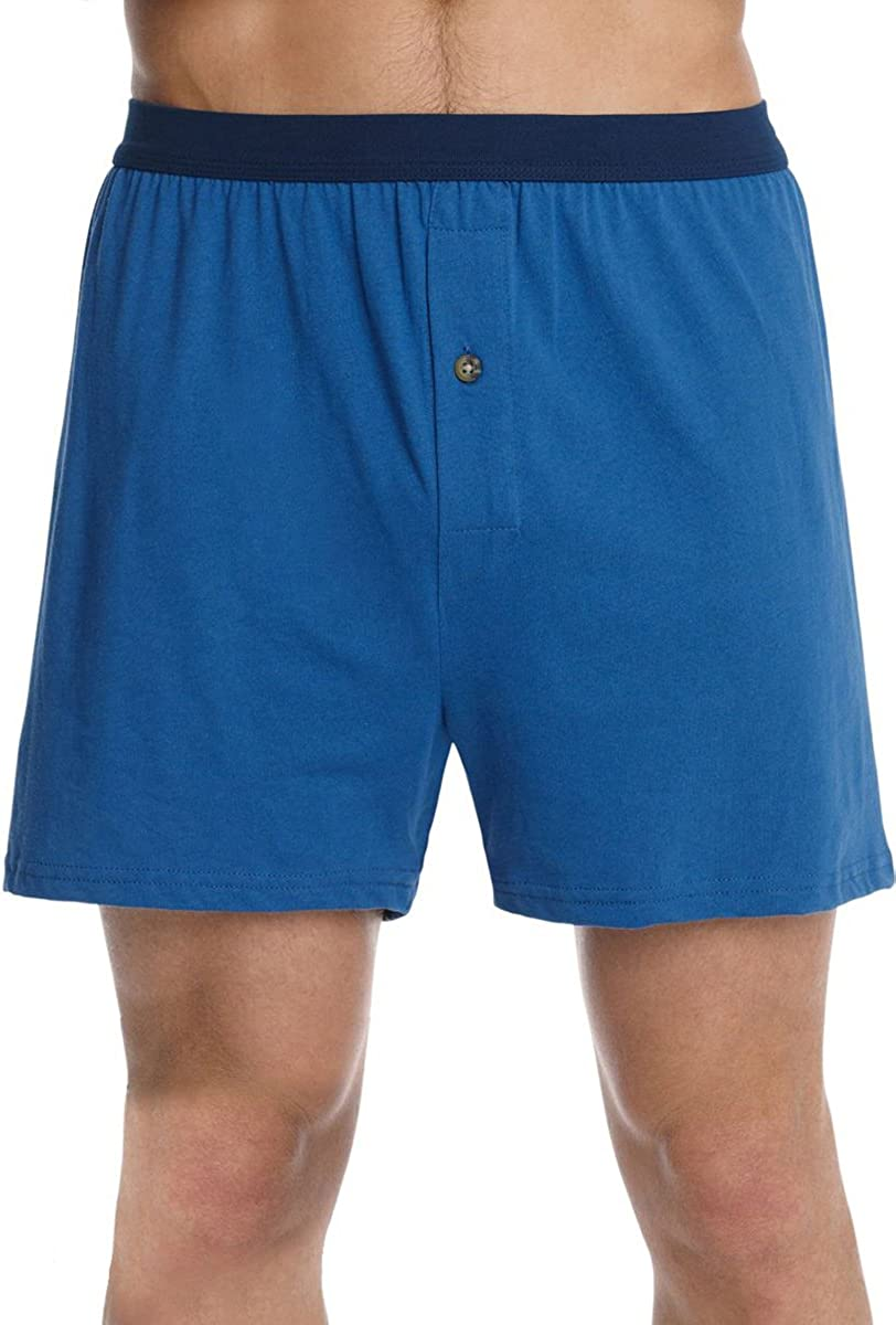 Hanes Mens ComfortSoft Knit Boxers ComfortSoft Waistb/& 5-Pack/_Assorted/_M