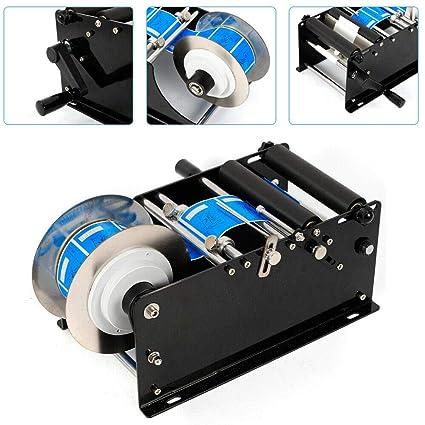 OUKANING MT-30 - Impresora de etiquetas manual (botella redonda ...
