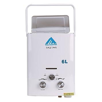Schon Iglobalbuy 6L Durchlauferhitzer LPG Propangas Warmwasserbereiter Boiler  Tragbar Warmwasserspeicher 12KW