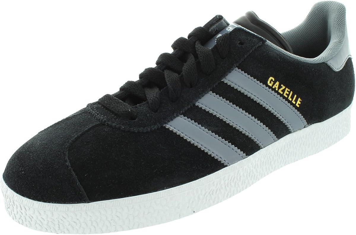 Adidas Gazelle II Black Grey Suede Mens Trainers Size 8.5 UK ...