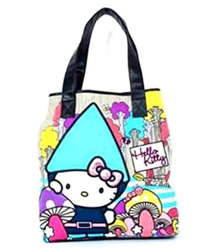 8dd2bf9ee Amazon.com: Loungefly Hello Kitty Gnome Tote Bag: Shoes
