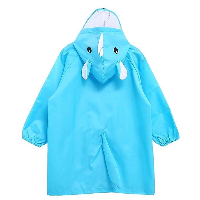 9272a3ea9f3f Amazon.com  Hugmii Waterproof Lightweight Fun Hooded Rain Poncho ...