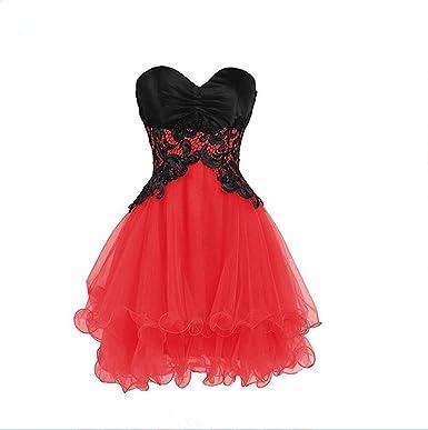 Red Plus Size Short Wedding Dress