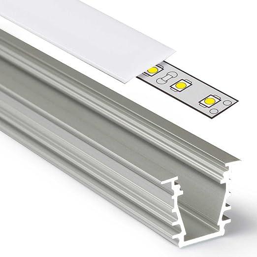 1 – 2 m aluminio perfil Deep (DP) 1 – 2 metros – Tira