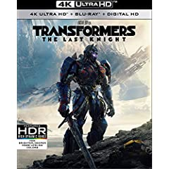 Transformers: The Last Knight on Digital Sept. 12 and on 4K, 3D, Blu-ray, DVD Sept. 26 from Paramount