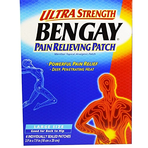 BENGAY Ultra Strength Pain Relieving Patches Large