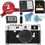 Leica M10 Digital Rangefinder Camera (Silver) + 64GB SDXC Card + Card Reader + Deluxe Cleaning Kit + MicroFiber Cloth Bundle