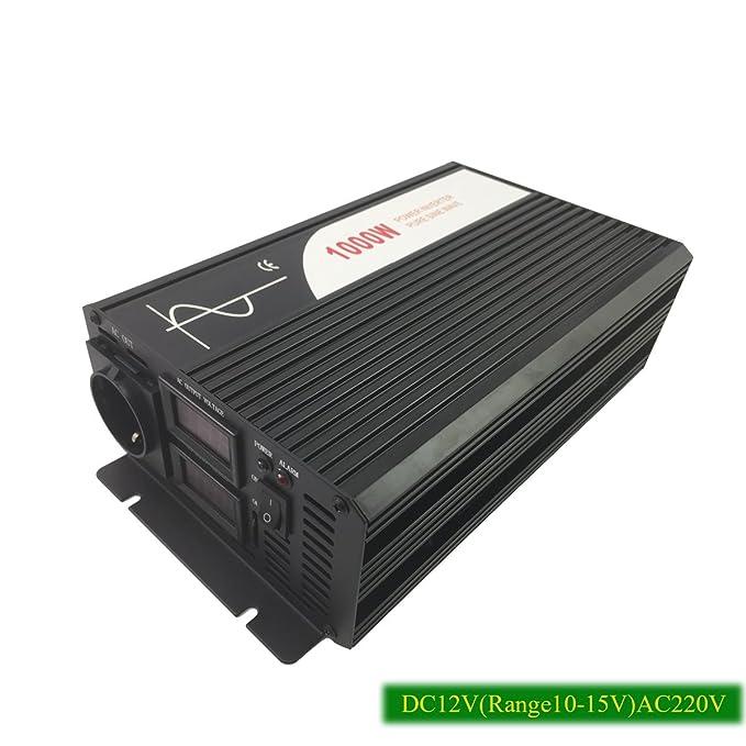 1 opinioni per Xijia 1000W (picco 2000W) Pure Sine Wave Inverter DC 12V 24V 48V 60V 72V
