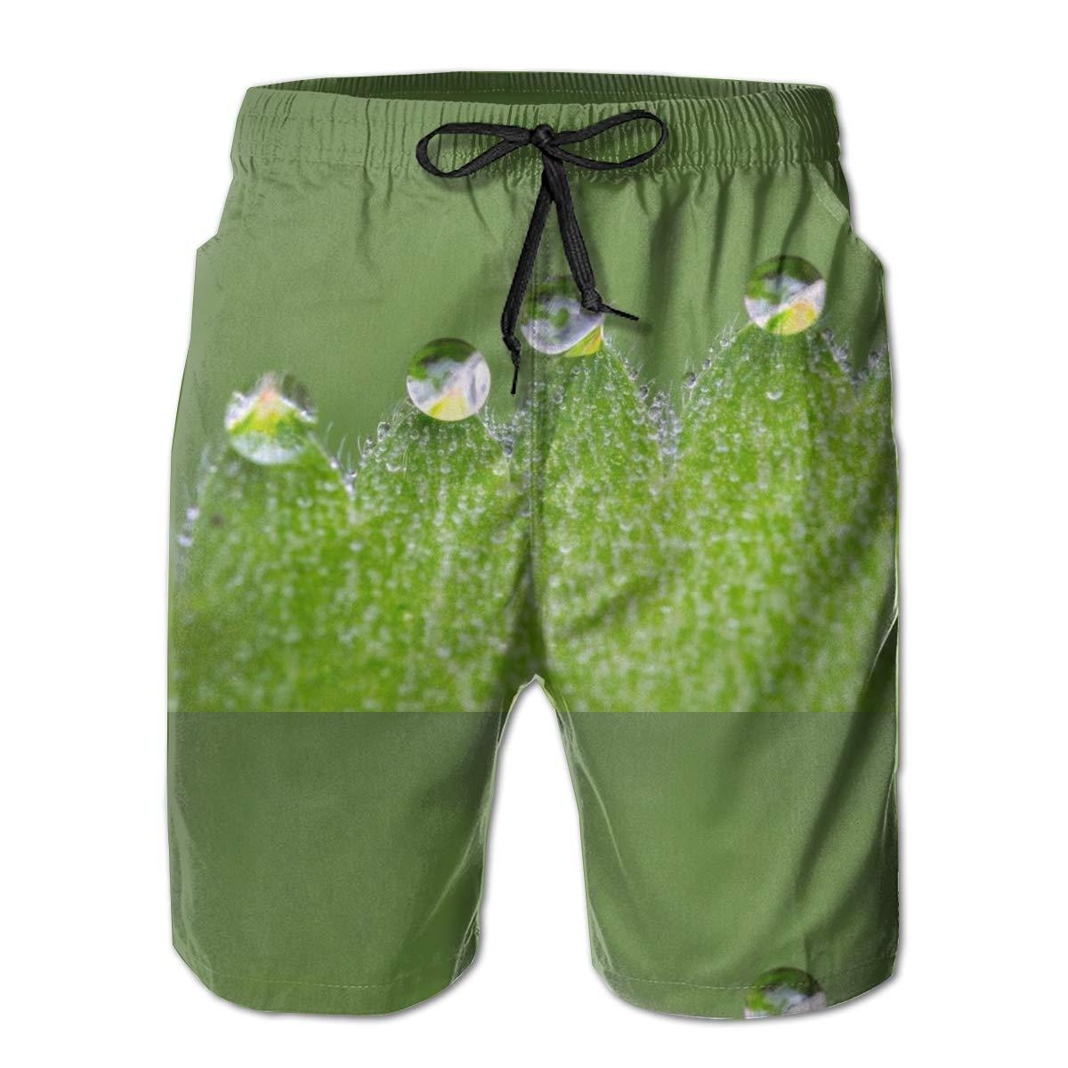Jngjs Mens Quick Dry Swimming Short with Drawstring Beach Shorts