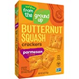 Real Food From the Ground Up Cauliflower and Butternut Squash Crackers - 6 Pack (Parmesan, Butternut Squash)
