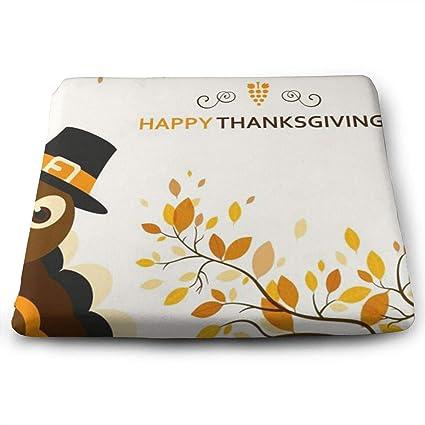 Amazon Com Hacvreq Custom Chair Cushions Thanksgiving Turkey Party
