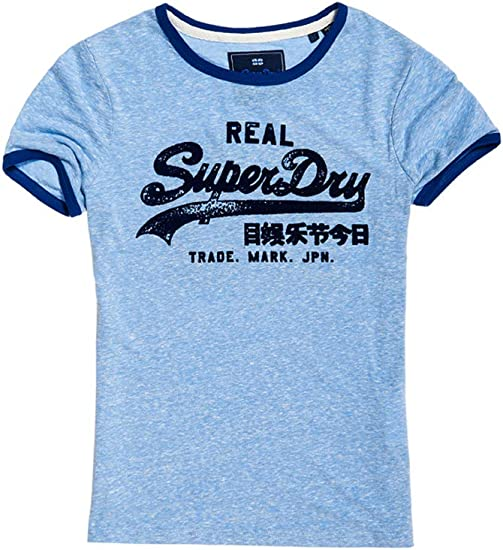 Superdry Vintage Logo Polka Dot All Over Print T-Shirt