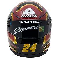 $235 » Jeff Gordon Signed Mini Replica Axalta Nascar Helmet w/Case Gordon Hologram SI - Autographed NASCAR Helmets