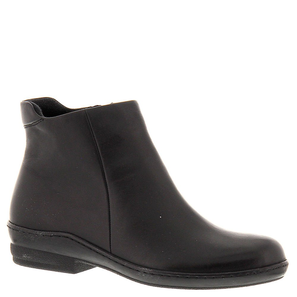 David Tate Women's Simplicity Black Calfskin Boot