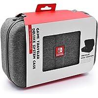 IFORU Funda para Nintendo Switch, con Funda Interior Protectora Tallada Bolsa de Viaje a Prueba de Golpes para Consola de Nintendo Switch Dock Cargador de Pared de CA Controlador etc