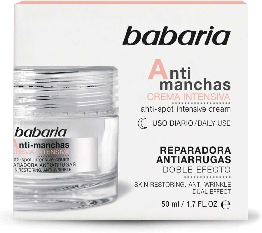Babaria Crema Intensiva Antimanchas Noche Dobre Efecto Reparadora ...