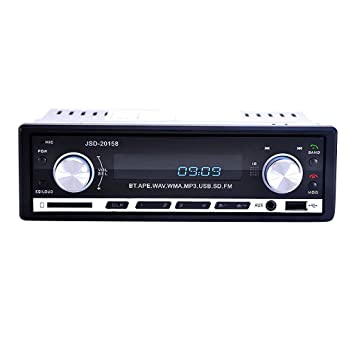 JSD-20158 Bluetooth Audio Estéreo En El Tablero FM Radio MP3 para Coche 24V Universal: Amazon.es: Coche y moto