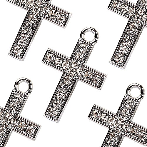 CHARM M171-E Cute 10 pcs Cross Crystal ()