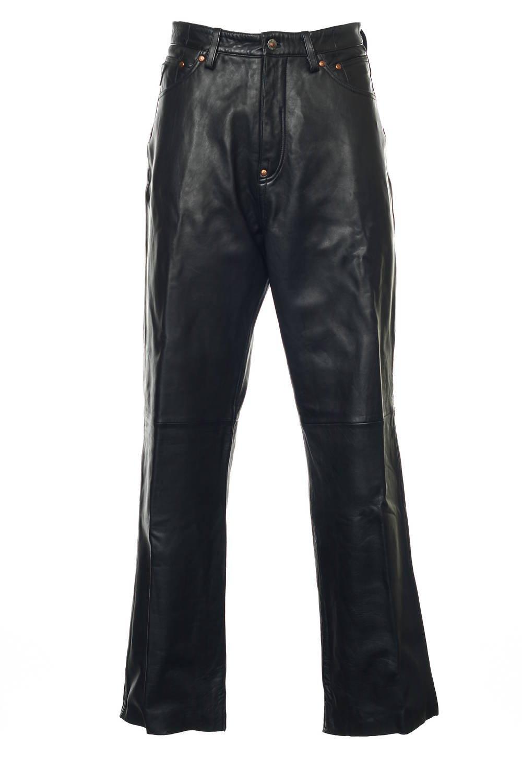 Akademiks Black Flat Front Pants | Size 34x33 by Akademiks