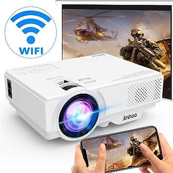 Proyector WIFI] Proyector 4500 Lúmenes Soporta 1080P Full HD ...