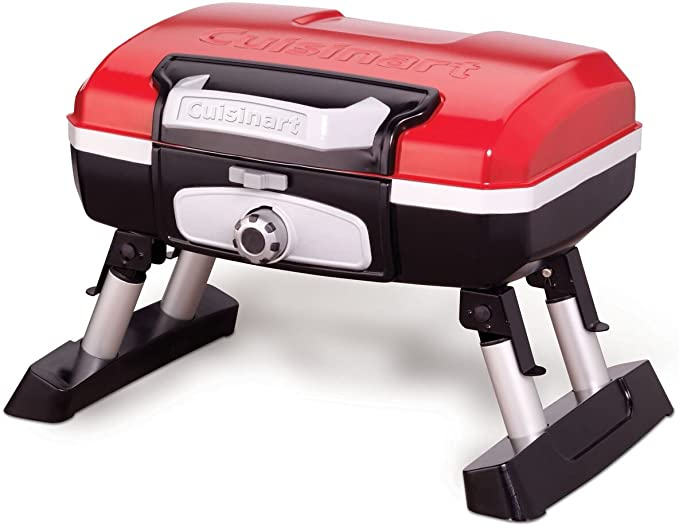 Cuisinart CGG-180T Petit Gourmet Portable Tabletop Propane Gas Grill - Best Material