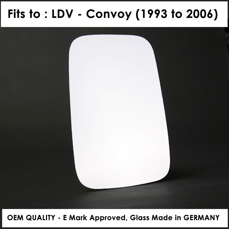 Driver Side LDConvoy 1993 to 2006 Silver Door Mirror s RH